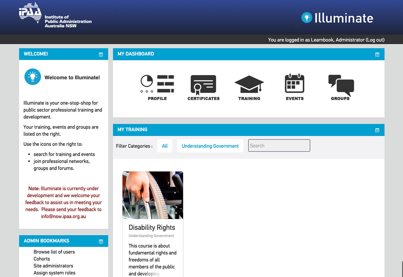 illuminate eLearning Course
