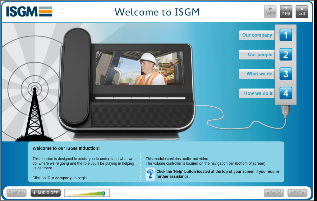 ISGM eLearning course