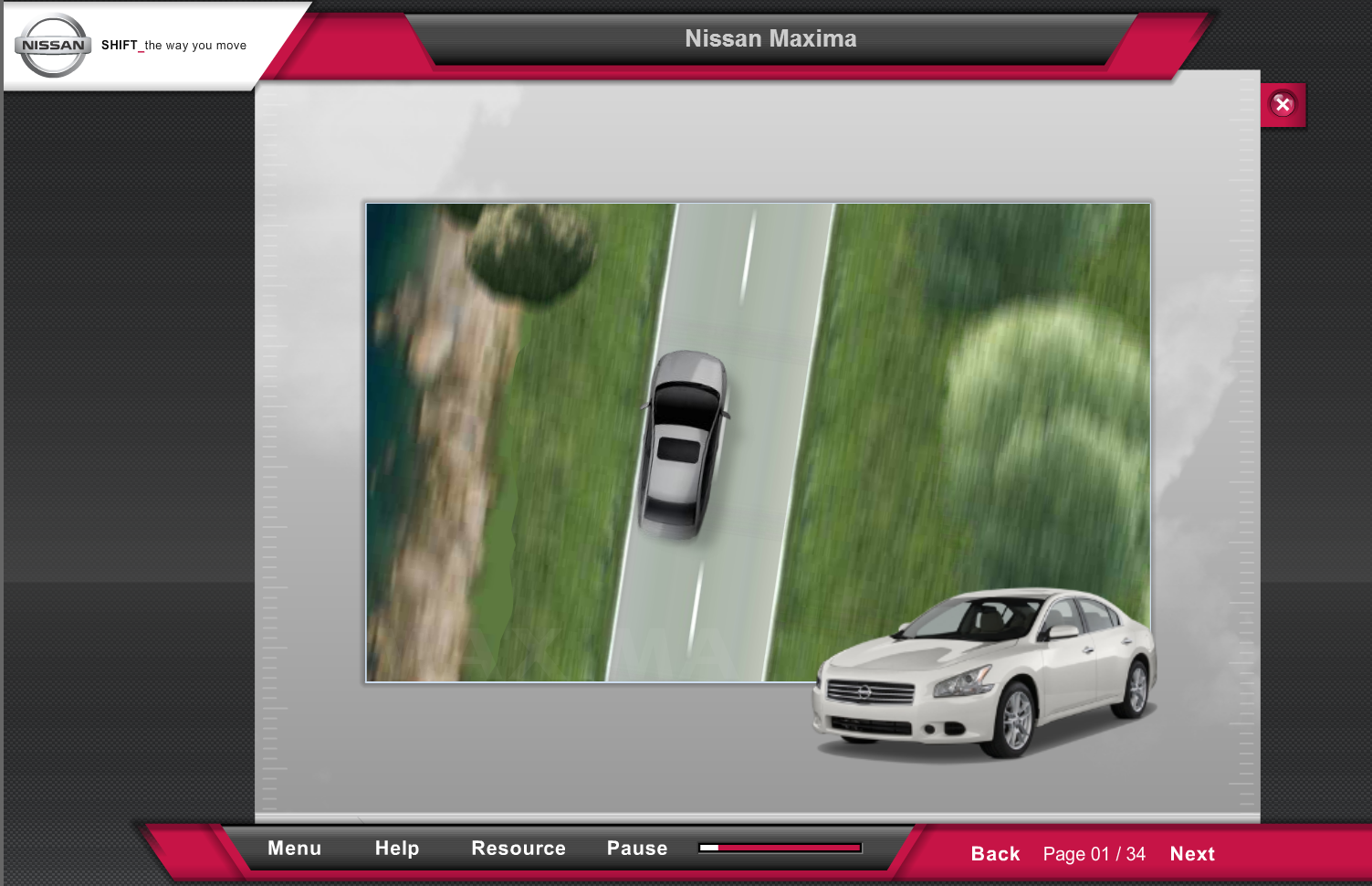 Nissan eLearning course