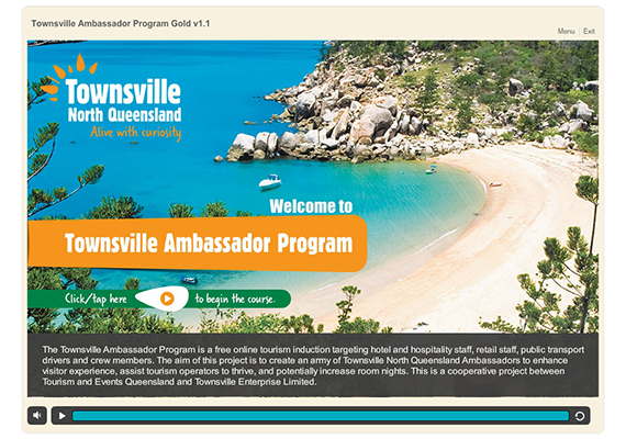 Townsville-Ambassadors eLearning Course