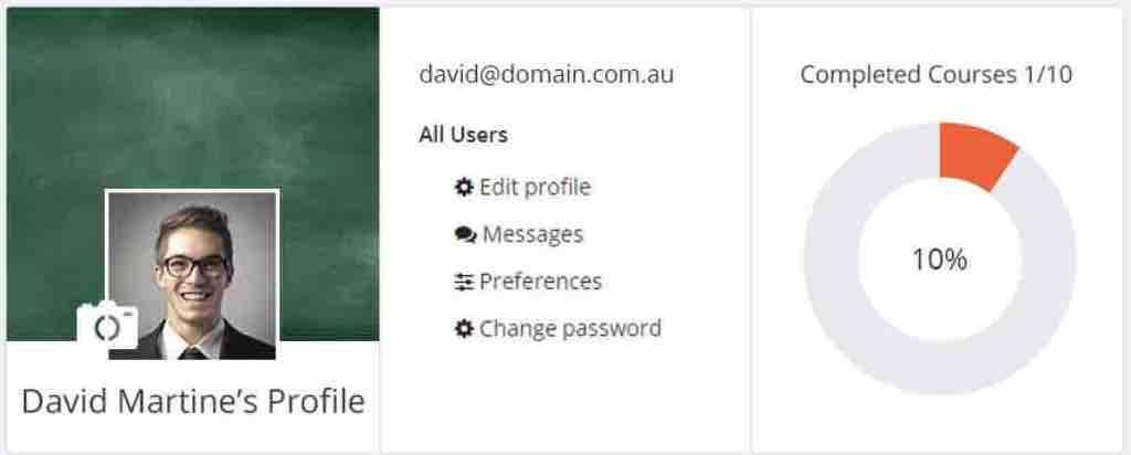Moodle Profile