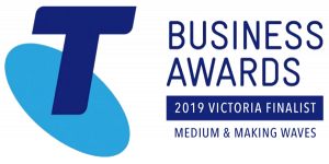 Telstra Business Awards Finalist